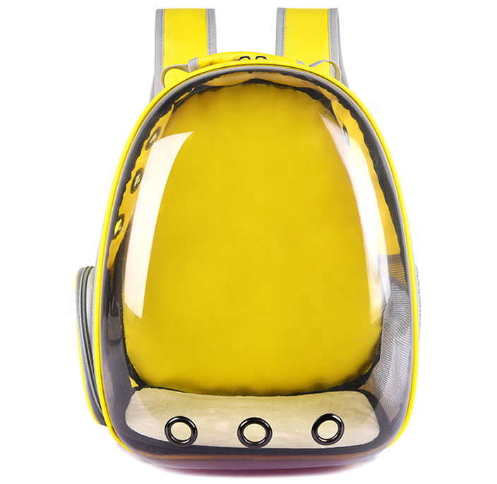 Outdoor Pet Transparent <strong>Carrier</strong> <strong>Bag</strong> 360 Panorama Cat Travel <strong>Bag</strong> <strong>Dog</strong> <strong>Carrier</strong> Back Pack