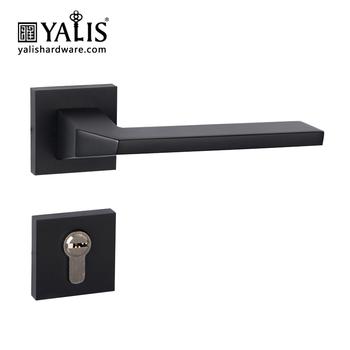 High Security Door Lock Handle Set Rosette Patent Design For Front