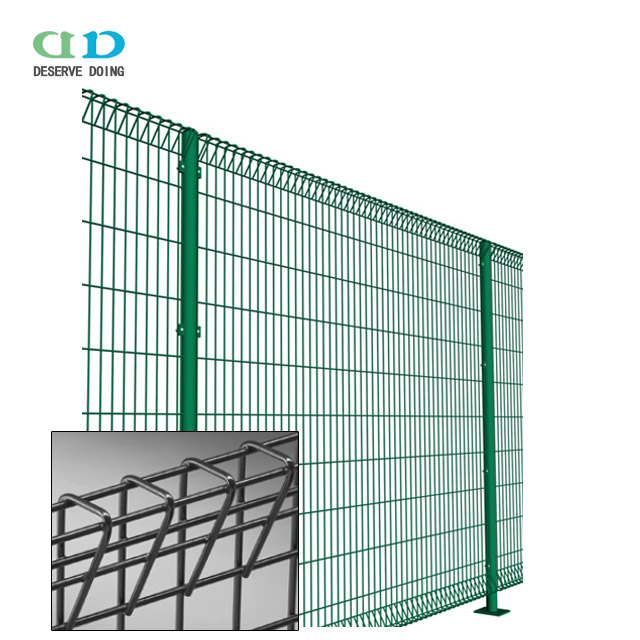 Brc Fencing Panel Roll Top Metal Fence Price Galvanized Pvc