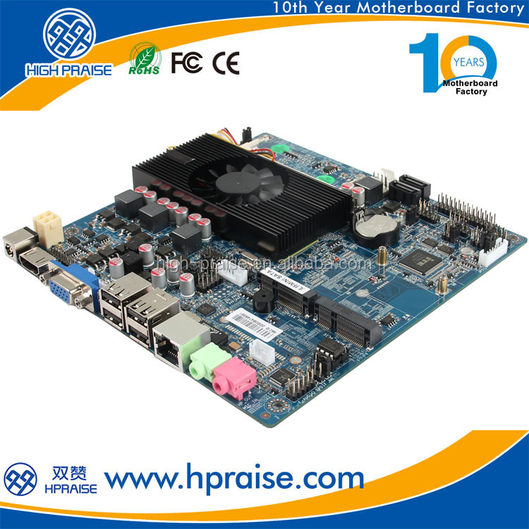 Industrial Motherboard With Onboard Intel 1037U CPU for Thin Client