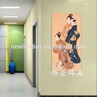 Japan and South Korea beautiful Japanese and Korean style modern decorative painting frame picturecanvas art murals living room