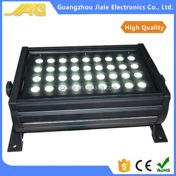 36 X 3w Rgb 3in1 Led Wall Wash Light Outdoor