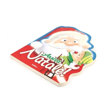 big special Shape christmas board book printing for kids