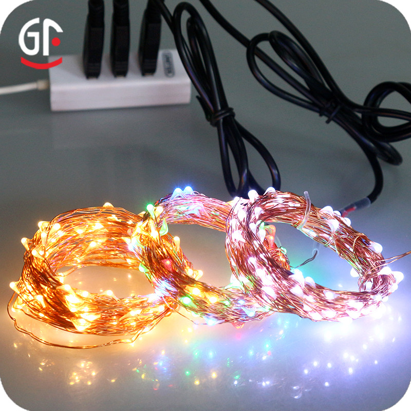 Wholesale China Import USB Decoration RF Remote Control 20-30M LED Underwater String Lights