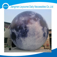 Eco-friendly free phthalate PVC Inflatable Vinyl Giant Large Moon Design Ball for School Student Prop display