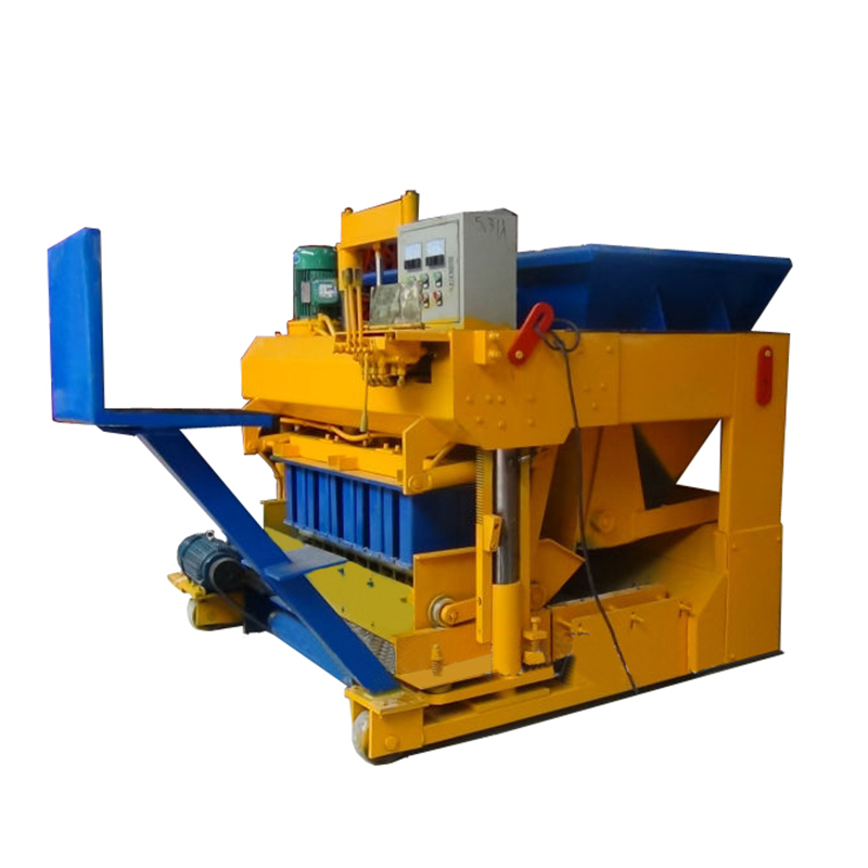 Mobile type tiger stone brick laying machine cost