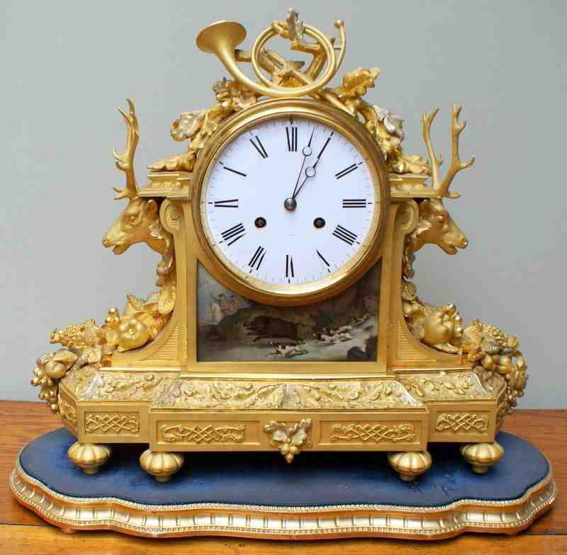 Бронза настольные часы Высокое качество