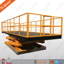 China supplier offers CE fixed upright scissor lift warehouse cargo lift