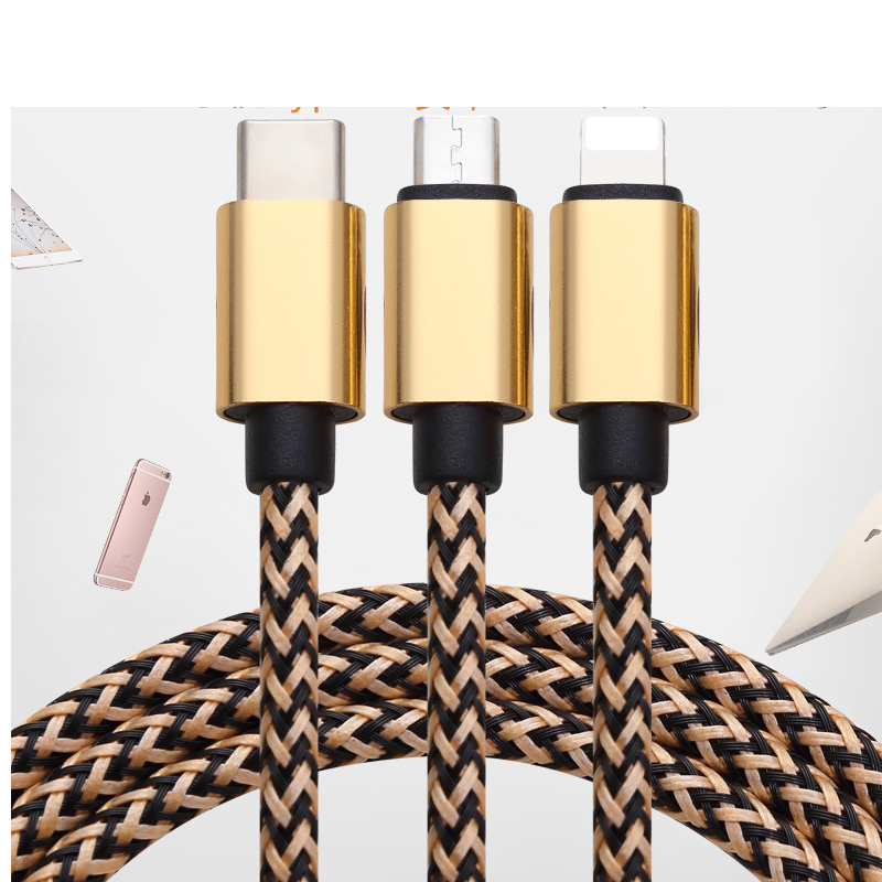 New products 2019 innovative product multi 3 in 1 retractable usb charging cable фото