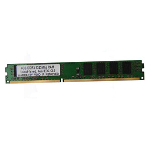 Bulk used computer parts tested desktop 4gb ddr3 pc1333