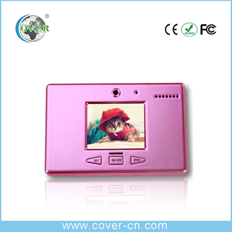 Professional video camera digital voice video message recorder with camera ,for christmas promotional gifts