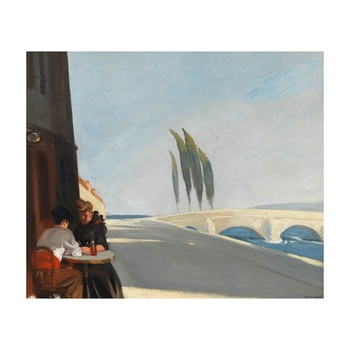 Free Shipping Edward Hopper Giclee Canvas Print Paintings Poster Reproduction Fine Art Wall Decor(The Wine Shop)