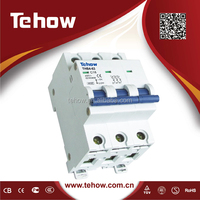 C45 Miniature Circuit Breaker, MCB Switch, 1P, 2P, 3P, 4P with CE/SEMKO Approval