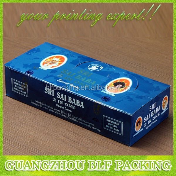 (BLF-PBO492)350g white card paper full color printing matt lamiantion hot stamping for spice packaging box
