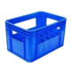 24 Bottle Red Plastic Crate for Beer