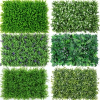 Artificial green grass wall panel backdrop for wedding decor/decoration