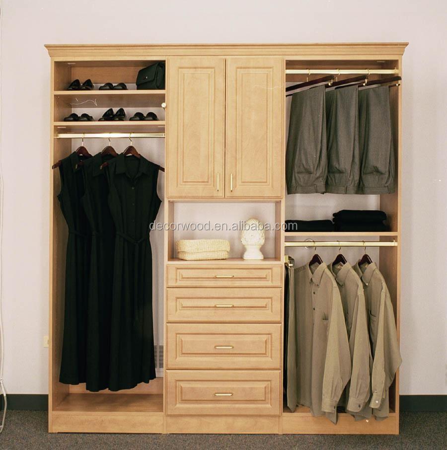 full overlay bedroom wooden wardrobe design pictures - buy