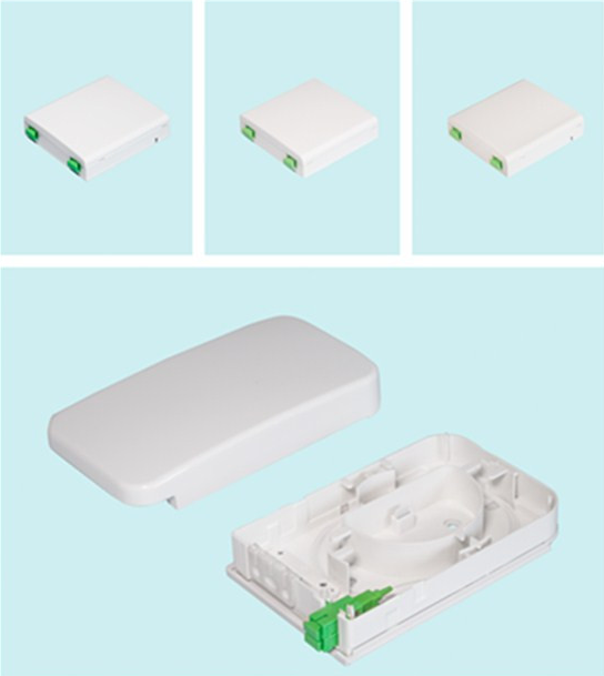Fiber Optic FTTH&Wall Mount Mini Terminal Box(ODF)&FTB&2 Fibers