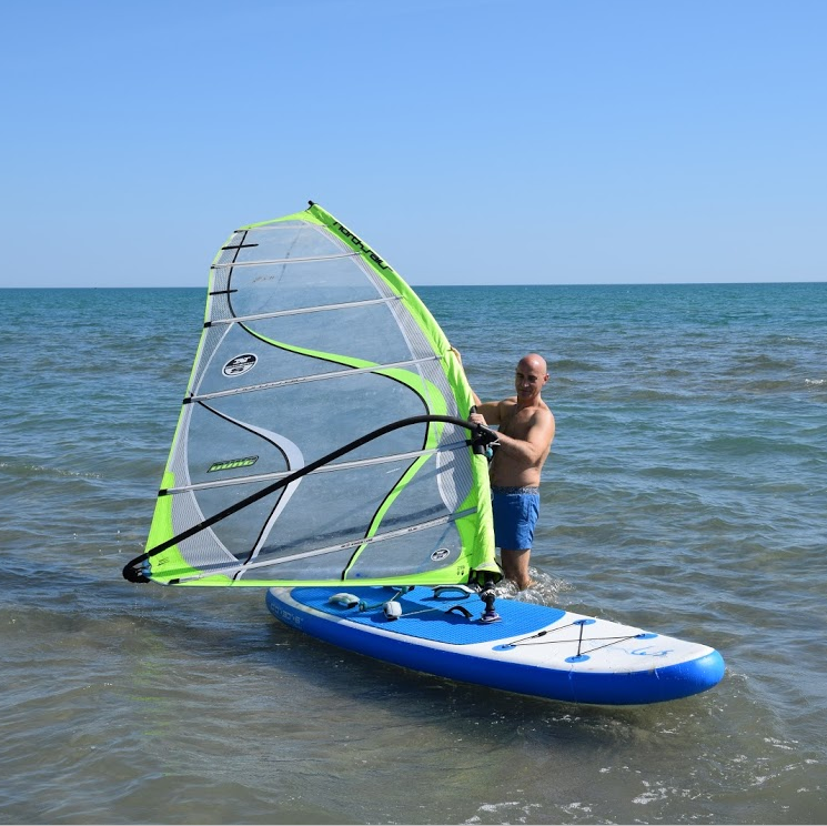 10'x30''x6'' vento stand up paddle surf paddle board gonfiabile SUP gonfiabile bordo con vela windsurf