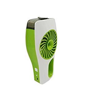 JJF 3-modes Mini Portable Handheld Humidifier Fan,recharge Fan Mute Beauty Mist Water Spray Air Conditioner Fan Handheld Fan USB Rechargeable Fan Mute Beauty Humidifier Small Air Conditioning- Misting Fan Suit for Home Office Travel