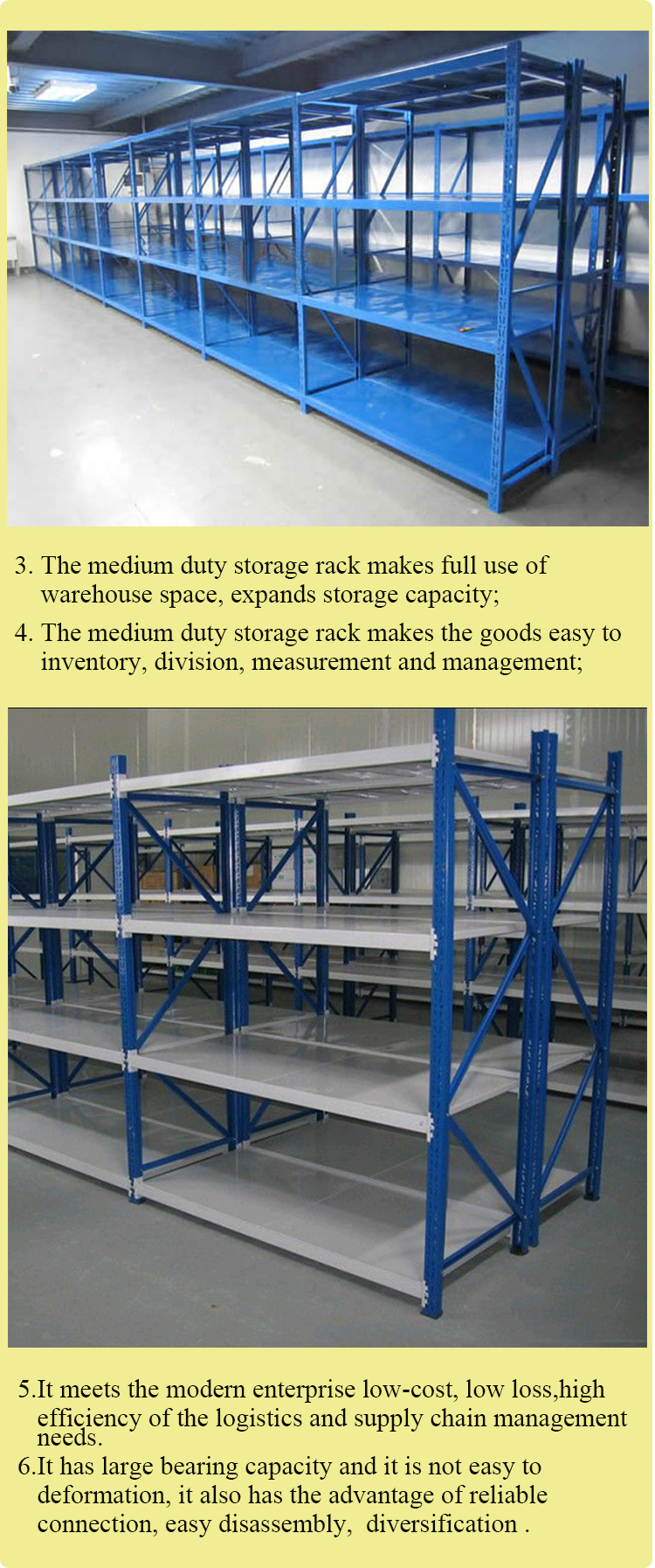 Good Design Commercial Shop Metal Storage Rack and Metal Storage Shelf