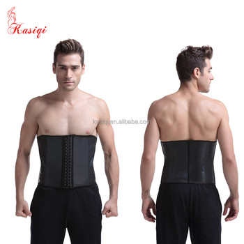 88940832d4 Smoothing 9 Bones Underbust Cheap Waist Training Corsets latex men waist  trainer waist slimming corset body