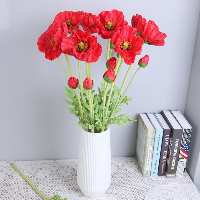 Artificial poppy flower artificial poppy flower suppliers and artificial poppy flower artificial poppy flower suppliers and manufacturers at alibaba mightylinksfo Choice Image