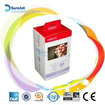 KP 108in For Canon SELPHY CP810 Print 3 Ink 108 Sheets Photo Paper