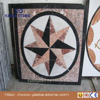 D Floor Marble Medallion Mosaic Tile X Inch Buy Mosaic Tile - 36 inch marble tile