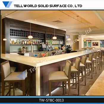 Restsaurant Bar Counter Design, Modern Bar For Sale, L Shape Home Bar  Counter For