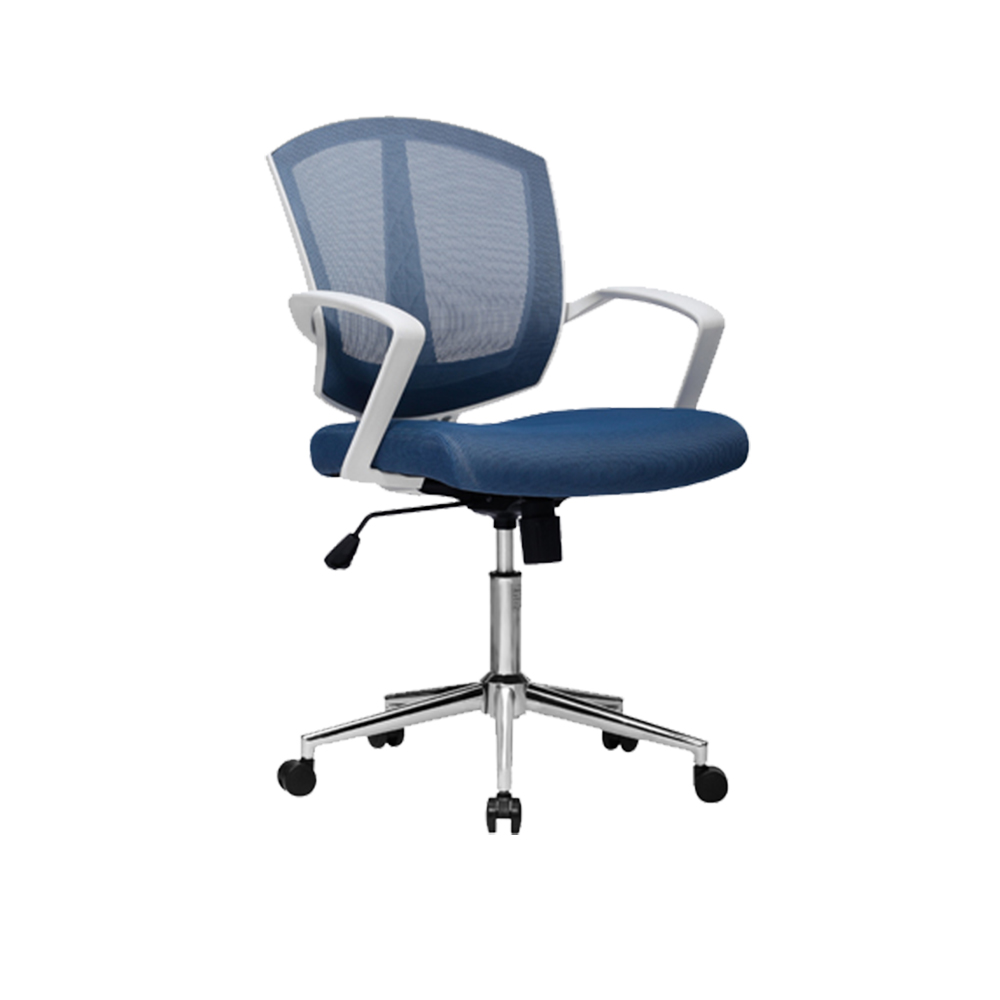 High quality computer desk wave gas lift swivel staff chair
