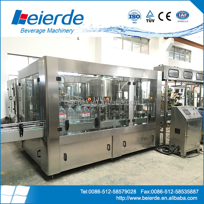 carbonated beverage pet can filling machine