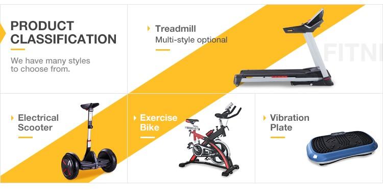 Home use fitness electric running machine motorized folding treadmill