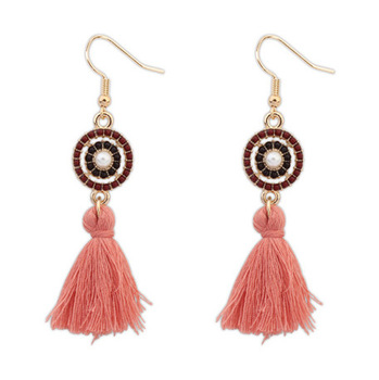 Jewelry Fashion Earrings New Style 2017 Red Tel Silk Thread