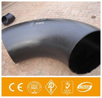 sales promotion large diameter 60 degree elbow pipe fitting12 inch 90 degree carbon steel