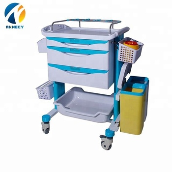AC-CT034 hot selling cheap china supplier medical clinical trolleys medical for sale