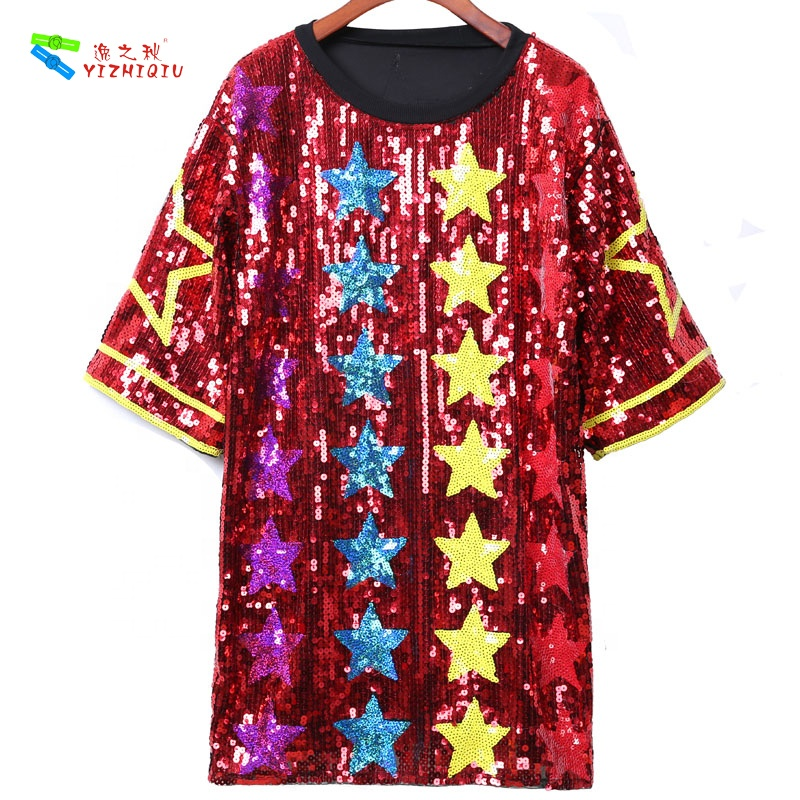 YIZHIQIU 2019 new arrival sequin hot girl women dress club party sexy club dress