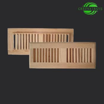 Solid wood Custom made Flush Mount Floor Registers
