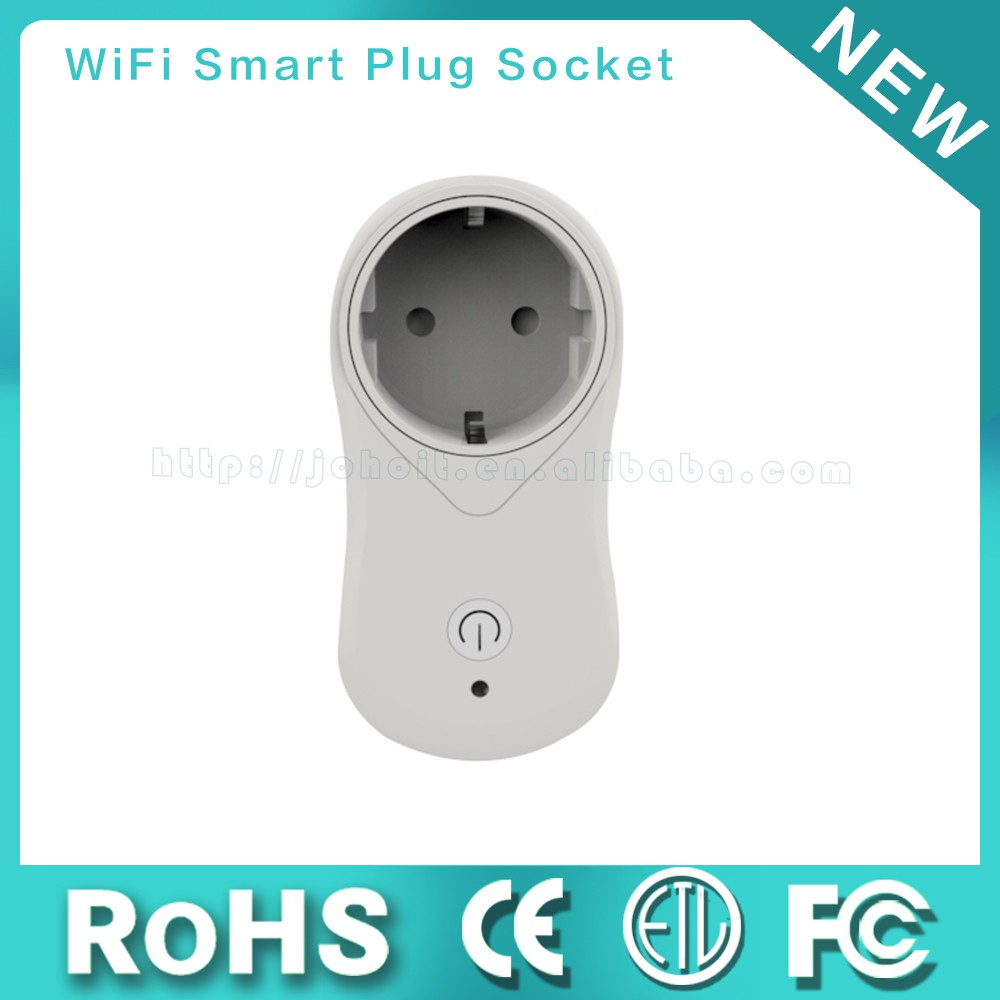 Smart Home Electric Outlet Wifi Smart Power Plug - Buy Wifi Smart ...