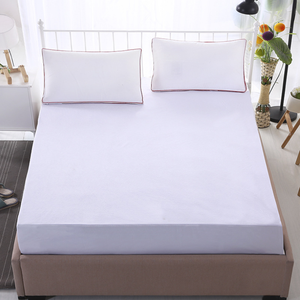 hotel Linen china Supplier Flat different pattern Quilted Mattress Protector for 5 Star Hotel hospital