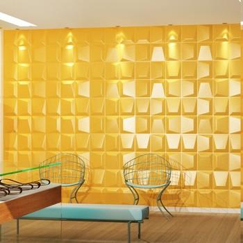 Decoração De Interiores 3d Painel De Parede De Pvc Para O Painel De