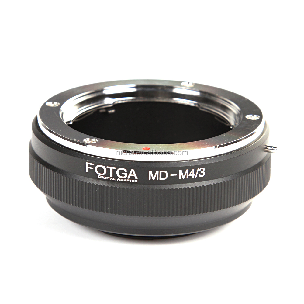 FOTGA Lens Adapter Ring For Minolta MD MC Lens to Panasonic Olympys Micro 4/3 m4/3 Camera GH3/4/5/5s E-PL6/7/8/9 фото