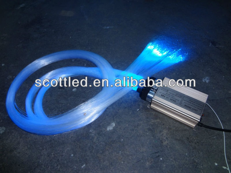 1500m/roll 1mm fiber optic night lights with fiber optic light engine