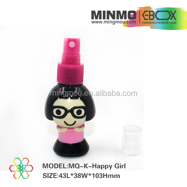 Decoration accessory cartoon eyewear cleaner, sunglass cleaning kits, lens spray cleaner