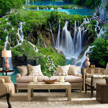 Custom Printed 3d Wall Mural Wallpaper Nature Landscape For