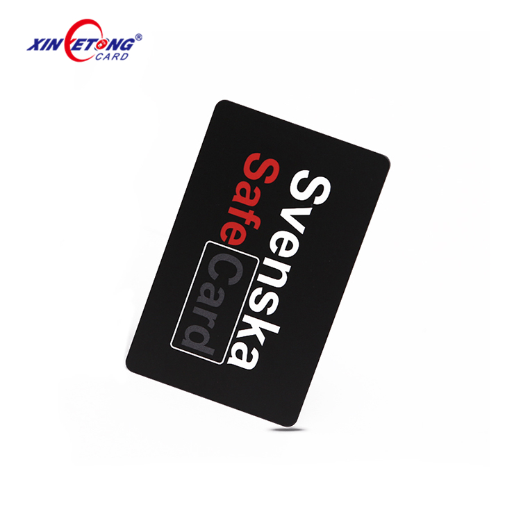 Contactless Chip RFID Blocking Card Plastic PVC Business Cards