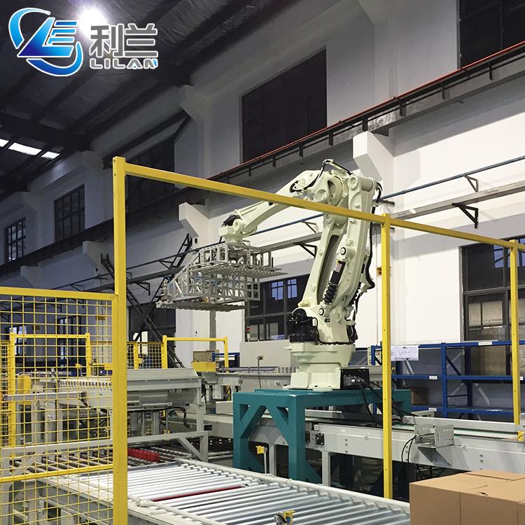 Alta produttività industriale robot palletizer per la birra può con sacchetto di Membrana