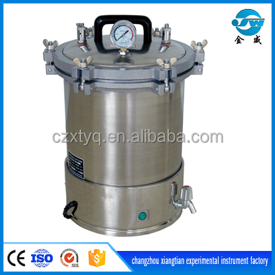 18L/24L portable steam sterilizer with electric