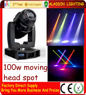 Led 100W moving head gobo projector
