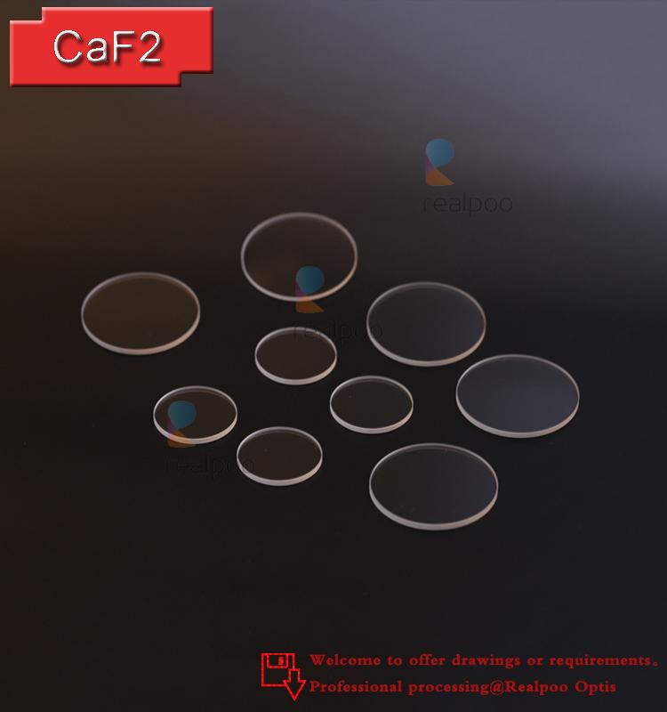 Caf2 (Calcium fluoride) Optical window lenses